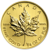 Maple Leaf ¼ oz - image 1