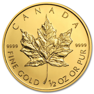 Canadian Maple Leaf 1/2oz - image 1
