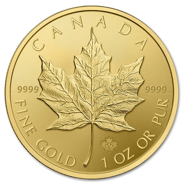 Canadian Maple Leaf 1oz - image 2