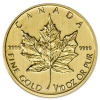 Golden Maple Leaf 1/10 oz - image 1