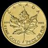 Golden Maple Leaf 1/10 oz - image 1
