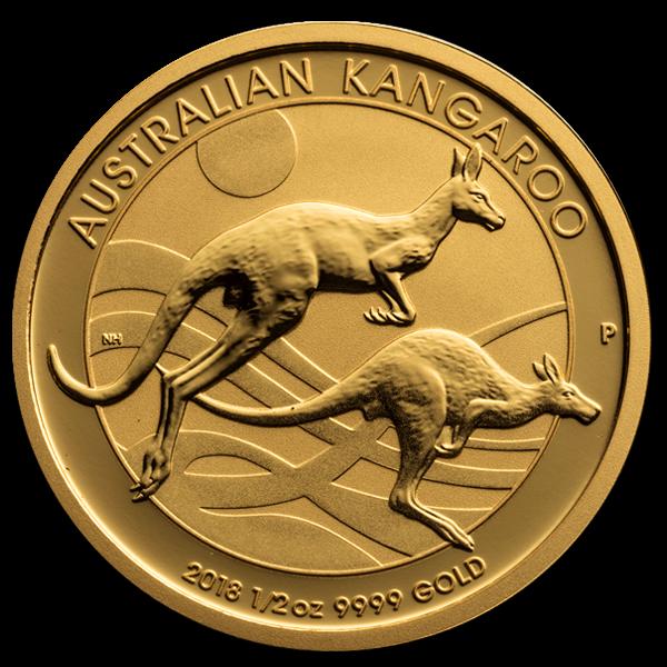 1/2 oz Gold Nuggat Coin - image 1