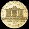 Gold Vienna Philharmonic 1/10 oz - image 2