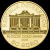 Gold Vienna Philharmonic 1/2 oz - image 2