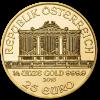 Gold Vienna Philharmonic 1/4 oz - image 2