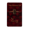 Gold bar 1 gram - image 1
