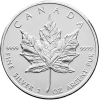 Silver Canadian Maple Leaf 1 oz - image 2