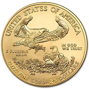 American Eagle 1/2 oz - image 2