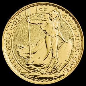 Gold investment coin Britannia 1 oz - image 1