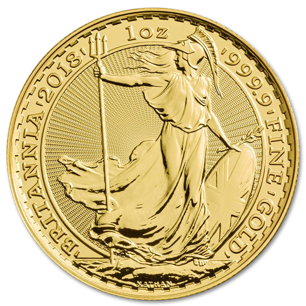 Gold investment coin Britannia 1 oz - image 1