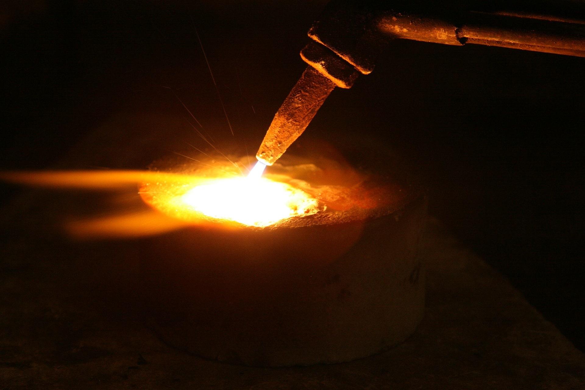 heating of platinum